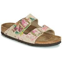 Cipők Női Papucsok Birkenstock ARIZONA Bézs