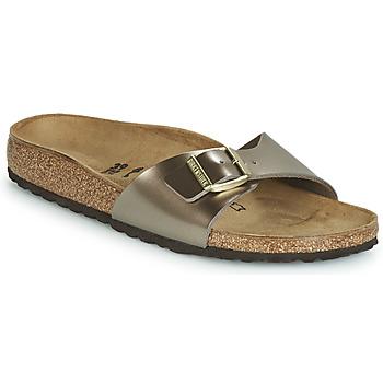 Cipők Női Papucsok Birkenstock MADRID Bronz
