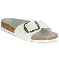 Cipők Női Papucsok Birkenstock MADRID BIG BUCKLE Fehér