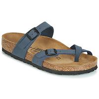 Cipők Női Papucsok Birkenstock MAYARI Tengerész
