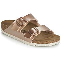 Cipők Lány Papucsok Birkenstock ARIZONA Arany