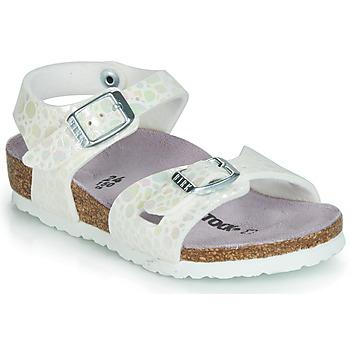Cipők Lány Szandálok / Saruk Birkenstock RIO Fehér