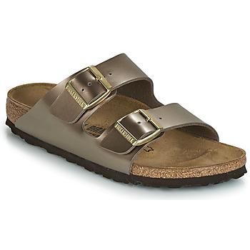 Cipők Női Papucsok Birkenstock ARIZONA Bronz