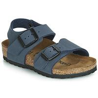 Cipők Fiú Szandálok / Saruk Birkenstock NEW YORK Tengerész