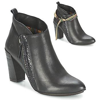 Cipők Női Bokacsizmák Felmini CASSANDRE Fekete