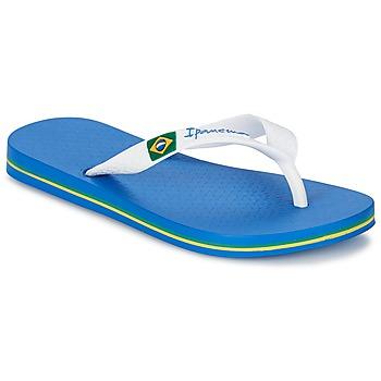 Cipők Fiú Lábujjközös papucsok Ipanema CLASSICA BRASIL II KIDS Kék / Fehér