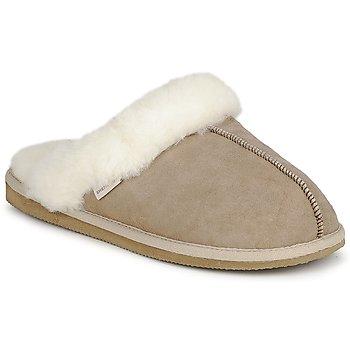 Cipők Női Mamuszok Shepherd JESSICA Bézs