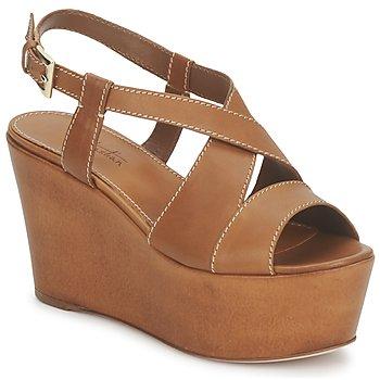 Cipők Női Szandálok / Saruk Sebastian S5270 Bőrszínű