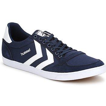 Cipők Rövid szárú edzőcipők Hummel TEN STAR LOW CANVAS Tengerész