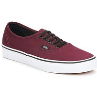 Shoes Rövid szárú edzőcipők Vans AUTHENTIC Bordó