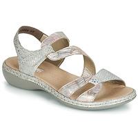 Cipők Női Szandálok / Saruk Rieker AMAZU Ezüst