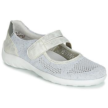 Cipők Női Balerina cipők / babák Remonte Dorndorf HUIJI Ezüst