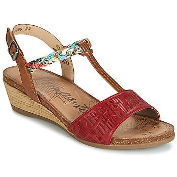 Cipők Női Szandálok / Saruk Remonte Dorndorf MIJUS Piros
