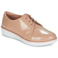Cipők Női Oxford cipők FitFlop DERBY CRINKLE PATENT Tópszínű