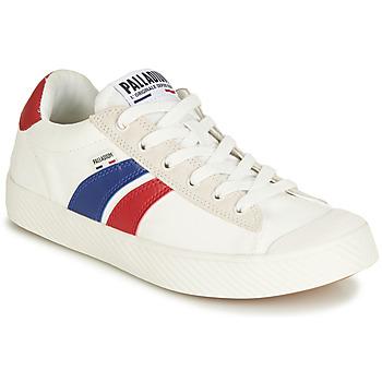 Cipők Rövid szárú edzőcipők Palladium PALLAPHOENIX FLAME C Fehér