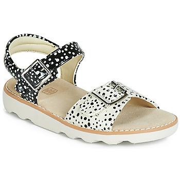 Cipők Lány Szandálok / Saruk Clarks Crown Bloom K Fekete