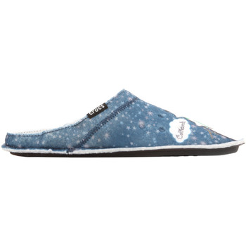 Cipők Női Mamuszok Crocs GRAPHIC SLIPPER 204565-410 niebieski