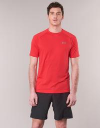 Ruhák Férfi Rövid ujjú pólók Under Armour TECH 2.0 SS TEE Piros