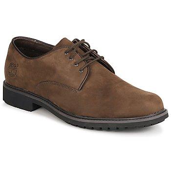 Cipők Férfi Oxford cipők Timberland EK STORMBUCK PLAIN TOE OXFORD Barna