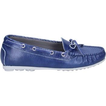Cipők Női Mokkaszínek K852 & Son BT933 Kék