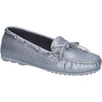 Cipők Női Mokkaszínek K852 & Son BT934 Ezüst