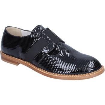 Cipők Női Mokkaszínek Arnold Churgin classiche nero vernice BT955 Nero