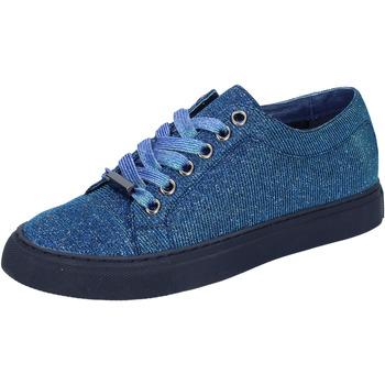 Cipők Női Rövid szárú edzőcipők Sara Lopez Tornacipő BT995 Kék