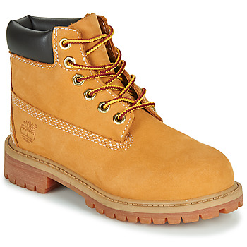 Shoes Gyerek Csizmák Timberland 6 IN PREMIUM WP BOOT Konyak