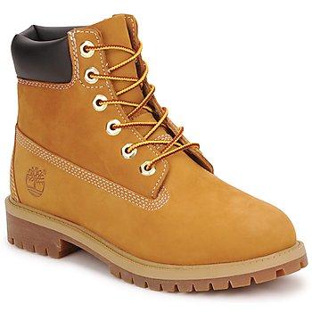 Shoes Fiú Csizmák Timberland 6 IN PREMIUM WP BOOT Konyak