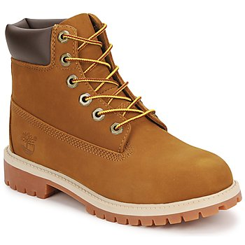 Shoes Gyerek Csizmák Timberland 6 IN PREMIUM WP BOOT Barna / Méz