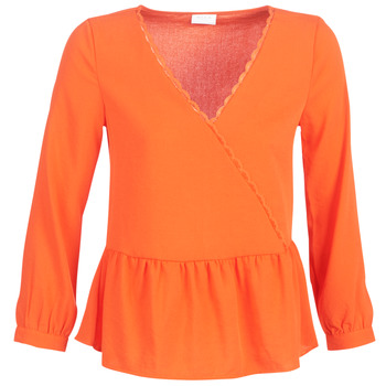 Ruhák Női Blúzok Vila VIROSSIE Narancssárga