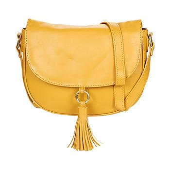 Táskák Női Válltáskák Betty London ELISSA Mustár sárga