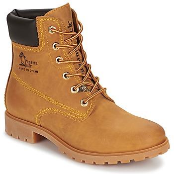 Shoes Női Csizmák Panama Jack PANAMA Citromsárga
