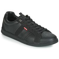 Cipők Férfi Rövid szárú edzőcipők Levi's TULARE Fekete