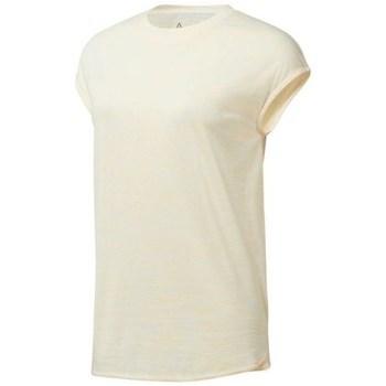 Ruhák Női Rövid ujjú pólók Reebok Sport EL Marble Tee Bézs