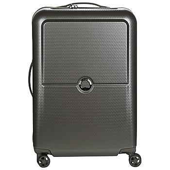 Táskák Keményfedeles bőröndök Delsey TURENNE 4DR 65CM Szürke