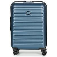 Táskák Keményfedeles bőröndök Delsey SEGUR 2.0 CAB SL 4DR 55CM Kék