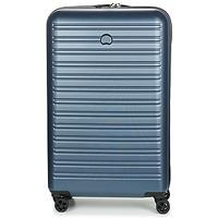 Táskák Keményfedeles bőröndök Delsey SEGUR 4DR 78CM Kék