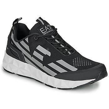Cipők Férfi Rövid szárú edzőcipők Emporio Armani EA7 ULTIMATE C2 KOMBAT U Fekete