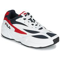 Cipők Férfi Rövid szárú edzőcipők Fila V94M LOW Fehér / Piros