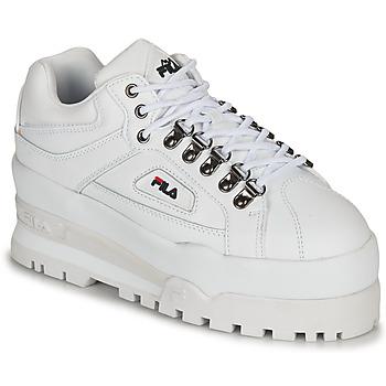 Cipők Női Rövid szárú edzőcipők Fila TRAILBLAZER WEDGE WMN Fehér