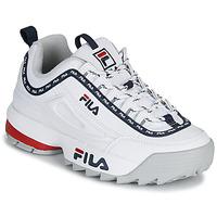 Cipők Női Rövid szárú edzőcipők Fila DISRUPTOR LOGO LOW WMN Fehér