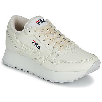 Cipők Női Rövid szárú edzőcipők Fila ORBIT ZEPPA L WMN Bézs