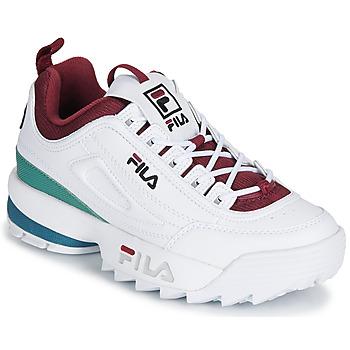 Cipők Női Rövid szárú edzőcipők Fila DISRUPTOR  CB LOW WMN Fehér