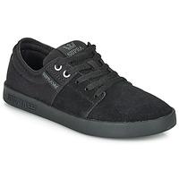 Cipők Rövid szárú edzőcipők Supra STACKS II Fekete