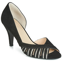 Cipők Női Félcipők Bocage DELAWARE Fekete