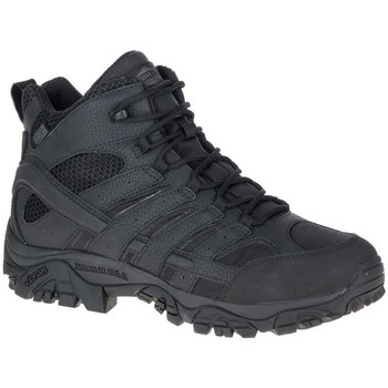 Cipők Férfi Túracipők Merrell Moab 2 Mid Tactical Waterproof Fekete