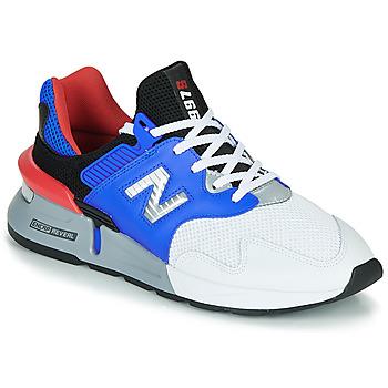 Cipők Férfi Rövid szárú edzőcipők New Balance 997 Fehér / Kék
