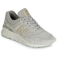 Cipők Női Rövid szárú edzőcipők New Balance 997 Szürke