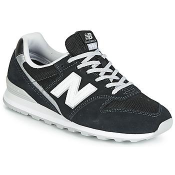 Cipők Női Rövid szárú edzőcipők New Balance 996 Fekete